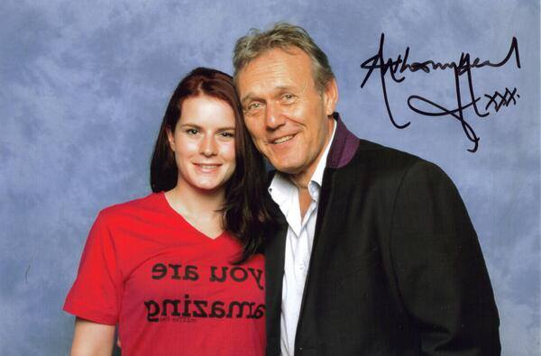 Anthony Head and Holly at London Film and Comic Convention last weekend
